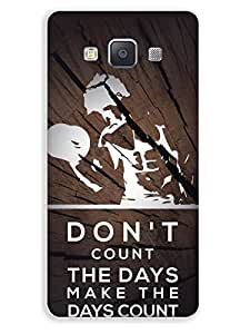 Samsung Galaxy A3 Mobile Case Back Cover for Bodybuilders and Boys BDR(5)SGA3