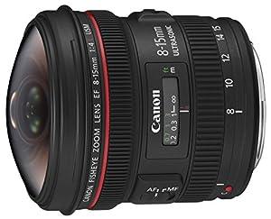 Canon 4427B005 Objectif EF 8-15MM 4.0 L USM Fisheye
