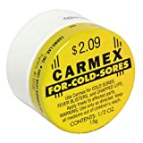 Carmex Cold Sore Reliever and Lip Moisturizer, Jar - .5 oz