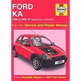 Ford Ka Service and Repair Manual (Haynes Service and Repair Manuals)by A. K. Legg