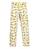 Official The Simpsons Homer Simpson Weekday Mens White Loungepants