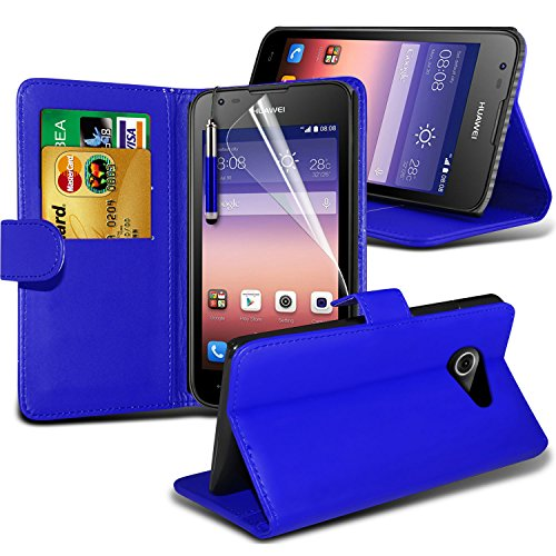 -blue-huawei-ascend-y550-case-protectivebookstyle-pu-leather-wallet-flip-with-2-credit-debit-card-sl