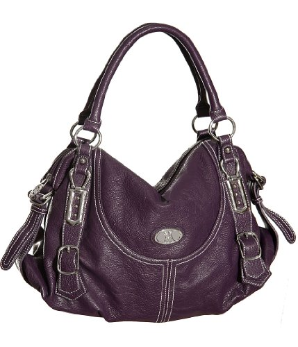 purple vitalio vera valerie hobo this large purple hobo bag is made of ...