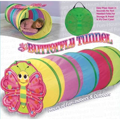 Butterfly Tunnel- Indoor/Outdoor Pop Up Tunnel