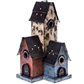 Wood Condo Birdhouse