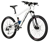 Diamondback Sortie 26-Inch Wheeled 1 Trail Full Suspension Mountain Bike (White, Medium/17-Inch)