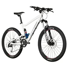 Diamondback Sortie 26-Inch Wheeled 1 Trail Full Suspension Mountain Bike (White, Small/15-Inch)