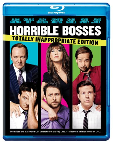 Cover art for  Horrible Bosses (Totally Inappropriate Edition + UltraViolet Digital Copy) [Blu-ray]