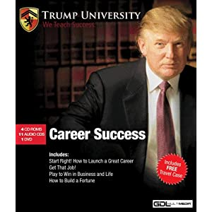 Amazon.com: Donald Trump- Career Success, 16 Disc Set w/FREE ...