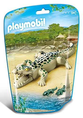 PLAYMOBIL Alligator with Babies Building Kit
