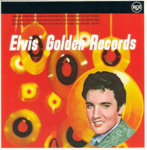Elvis' Golden Records Volume 3 artwork
