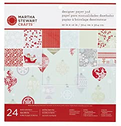 Martha Stewart Crafts Snow Lace Paper Pad
