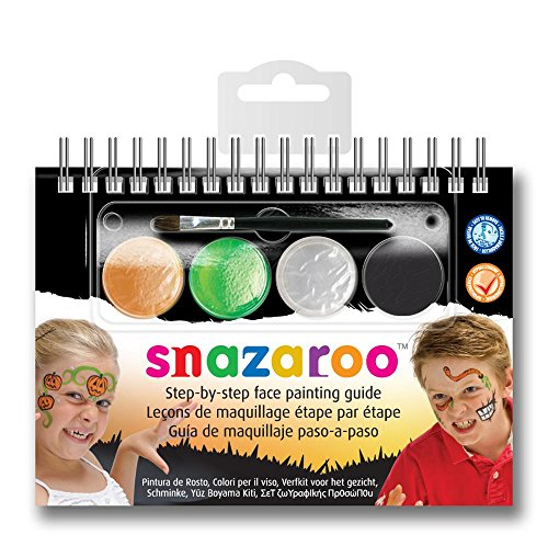Snazaroo Halloween Step-by-Step Face Painting Set - 1