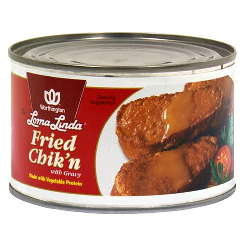 Loma Linda Fried Chik'N with Gravy, 13-Ounce Cans (Pack of 12)
