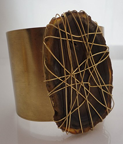 jil-brass-cuff-with-wire-wrapped-natural-brown-agate