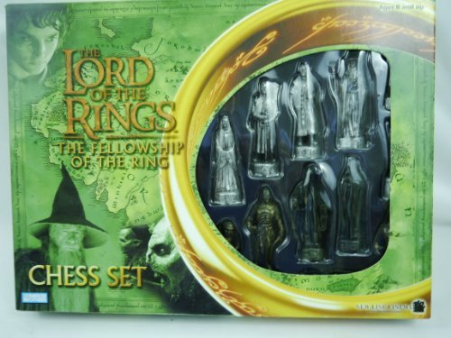 Lord of the rings fellowship of the ring chess set toys games games board games sets - Lord of the rings chess set for sale ...