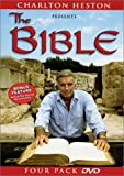 cover of Charlton Heston Presents the Bible (Four Pack DVD)