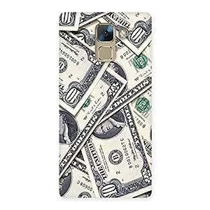 Impressive Bucks Lot Back Case Cover for Huawei Honor 7