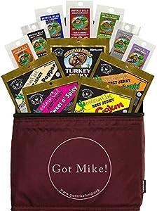 Buffalo Bills 12-Piece Beef Jerky Sampler Got Mike 6-Pack Gift Cooler (12 mixed 1.5oz jerky packs)