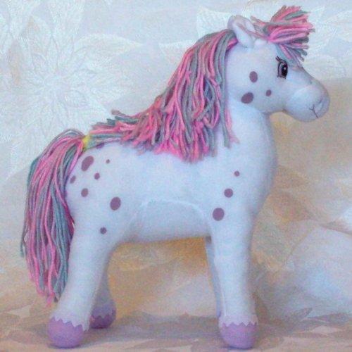 "Strawberry Shortcake Plush 11"" Milk Shake Pony Series Two - Collectible - 1"
