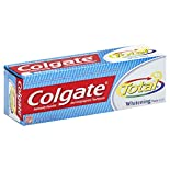 Colgate Total Toothpaste, Anticavity Fluoride and Antigingivitis, Whitening, Paste, 4.2 oz (119 g)