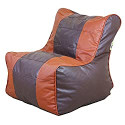 Can Bean Gamer Chair Brown + Tan Cover