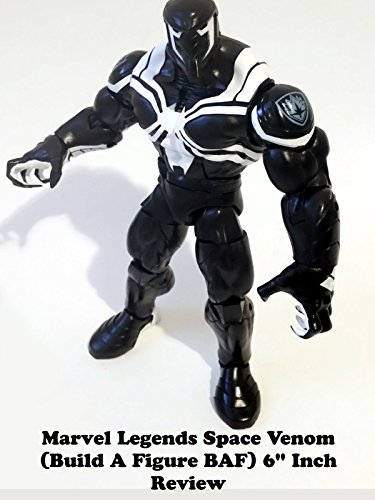 "Marvel Legends SPACE VENOM (Build a Figure BAF) 6"" inch Review (Hasbro) spider-man toy action figure"