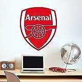Arsenal Vinyl Football Fans Wall Stickers Art Decals Christmas Home Decor Wallpaper for Kids Boys Room Bedroom