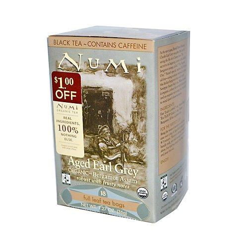 Numi Black Tea Bags Golden Chai Spiced Assam
