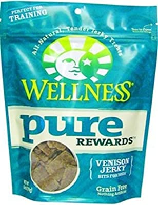 Wellness Pure Rewards Natural Grain Free Dog Treats Made in USA Only, 6-Ounce Bag