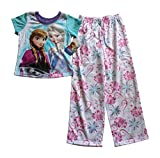 Disney Frozen Elsa & Anna 2 Piece Pajama Pants Set