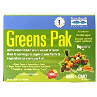 TRACE MINERALS RESEARCH Greens Pak Berry Flavor 30 Packets