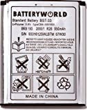 Mobile Phone Battery To Replace Sony Ericsson BST 33 Type