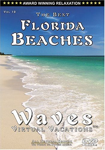 Vol 10. Florida Beaches / WAVES: Virtual Vacations + Vol 9. Caribbean Daydreams (Side 2) DVD - COMBO