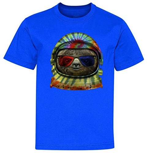 Youth T-Shirt: Sloth Astronaut 3D Glasses yTP2235617