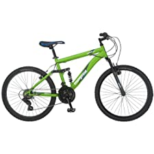 Mongoose Status Mountain Bike, Matte Green, One Size