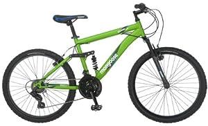 Mongoose Status Mountain Bike, Matte Green, One Size by Mongoose