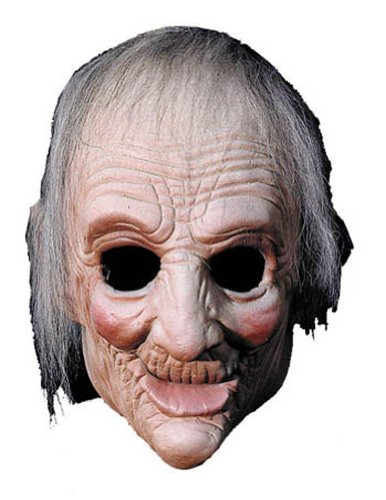 Scary-Masks Ma Mask Halloween Costume - Most Adults