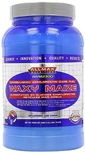 ALLMAX Nutrition Waxy Maize -- 2000 g - 4.4 lbs