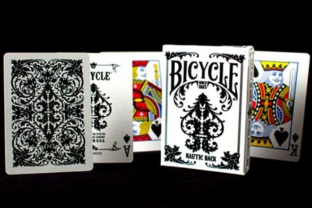 Bicycle Nautic White Playing Cards