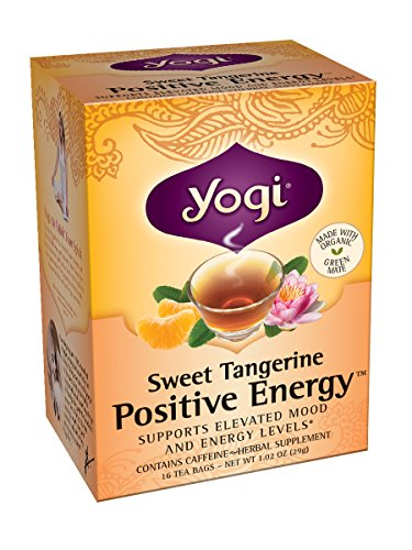 Yogi Tea Bags, Sweet Tangerine For Positive Energy, 16 Count