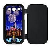 Dream Castle Custom Flip Cover Design Case TPU For Samsung Galaxy S3 i9300