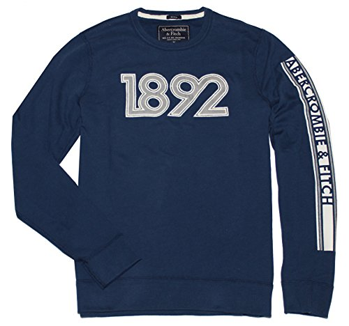 abercrombie-fitch-men-muscle-fit-graphic-crew-sweatshirt-m-navy
