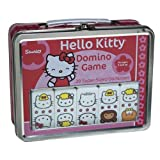 Sababa Hello Kitty Dominoes in Tin Lunch Box Case