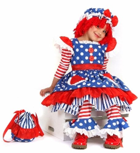 Little Girls' Raggedy Ann Costume