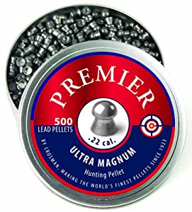 Crosman Domed Premier Pellets, 0.22-Calibre