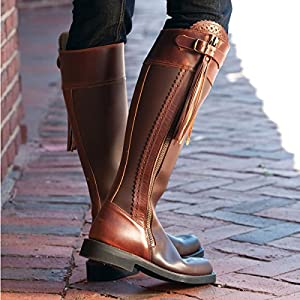 Cordoba Andalusian Riding Boot Brown Size 41 (US Size 10 1/2)