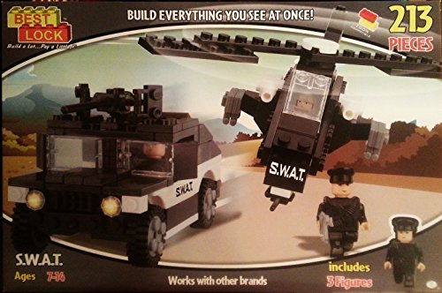 Best Lock - S.W.A.T. Helicopter, Artillery Vehicle