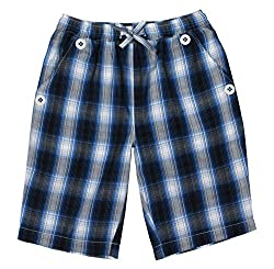 ShopperTree Boys' Regular Fit Shorts (ST-1642_4-5Y, Blue, 4 to 5 years)