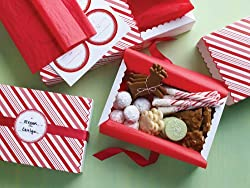 Martha Stewart Crafts Candy Cane Compartment Treat Box